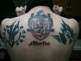 My Back tattoos by mrwho103