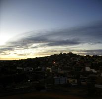 Zacatecas: Twilight by k-ee-ran