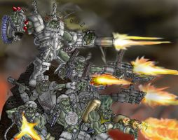 Space Orks by Taytonclait