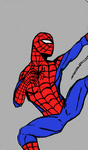 Spidey sketch colored by newmindhall