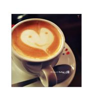 cappuccino smile.. by TRNS