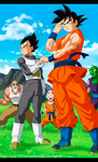 Dragon Ball Z Fukkatsu No F Arrive The Saviors by IITheYahikoDarkII