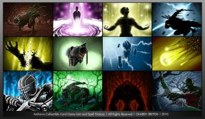 Antharra CCBG Card Pics by SkavenZverov