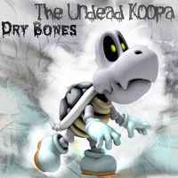 The Undead Koopa: Dry Bones by Saston