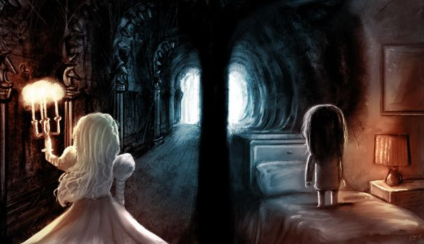 Movie Mashup: Crimson Peak/ Paranormal Activity by JeffVictor