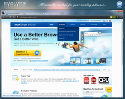 EVOLVE 3.0 for Maxthon 3 by Decaytion