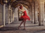 Dancer in Venice by WesterArt