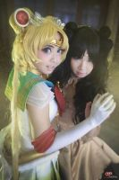 Sailor Moon Super S : Luna and Me by oruntia