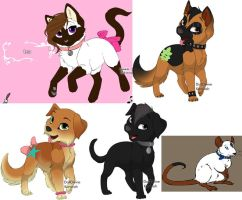 Nella's pets by 20bumblebee