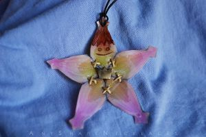 NEW Version Kingdom Hearts Kairi's Lucky Charm by AnyShapeNecklaces