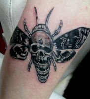 Death head moth by Somniphorius