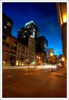 Montreal at Night 42 by Pathethic