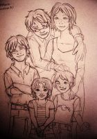 The Potter Family by daidaiiro