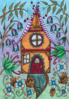 Little House Coloured by WelshPixie
