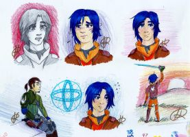 Rebels Doodles 1 by HollowRain1