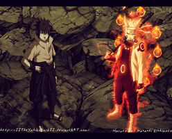 Naruto 673 The Game Ended Starts The Battle by IITheYahikoDarkII