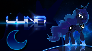 Princess Luna Wallpaper by Cubengine
