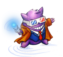 Doctor Gengar by bladesfire
