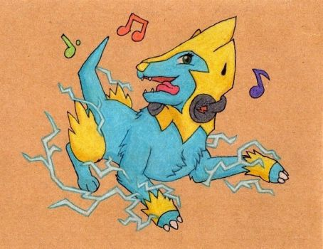 Manectric used Dance! by Kite-Drachen