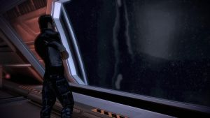 Kaidan Observation Deck3 - Mass Effect 3 by loraine95