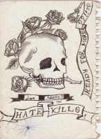 Hate Kills by BadBloodKilljoy