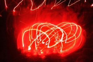 Flames in Motion 2 by PhotonicBohemian
