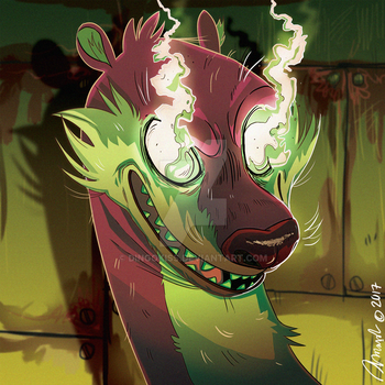 Weasel by Dingokiss