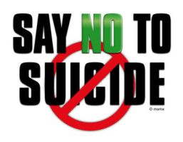 Say No to Suicide by mxmx