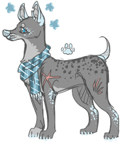 cheap canine auction { C L O S E D } by meteorcrash