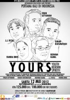 YOURS poster by jawajawas