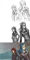 Axel and Saix- Steps by Loreen