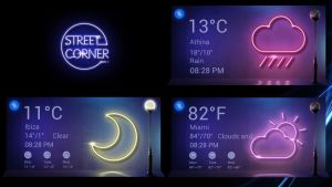 Street Corner Weather HD for xwidget by jimking