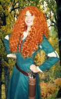 Merida from Brave by auress