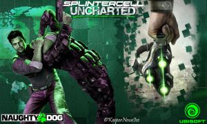 Splinter Cell Uncharted 2 Wallpaper by KeeperNovaIce