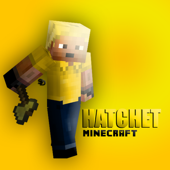 Hatchet: Minecraft OC by ShadowDrakus