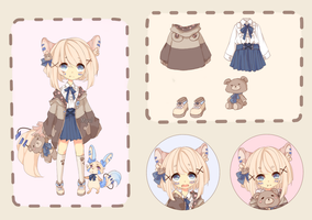 [CLOSED] ADOPT 7 - Linelley by Minn-Adoptables
