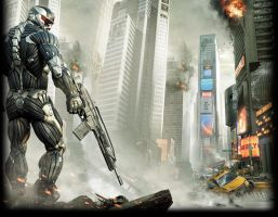 Crysis Wallpaper Smoken by ADDOriN