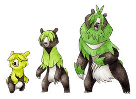 Bear Grass Starters -old- by FakeMakeT