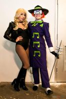 Music Meister and Black Canary by g0N3Morganna