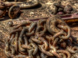 USA in chains. by nolra