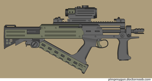 Nekron PDW by Robbe25
