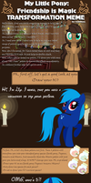 Transformation Meme - Lily by Bloom2