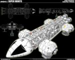 Space 1999 Eagle Transporter 4 by cosedimarco