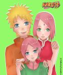 Naruto Sakura Hanami - family photo by NarutoByAri