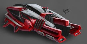 Car Concept - Manack by W-E-Z