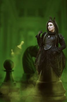 The Black Queen by MelanieMaterne