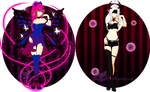 Adoptables #2#3 OPEN 10$ each by Mewberry-Chan