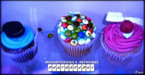 Fantasy Cupcakes X by MissArtistsoul