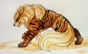 Arcanine by 44Shadow44