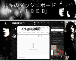 Ruki Dashboard Theme - DIVIDED by vulgar-thoughts